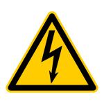 Schild Vorsicht Strom