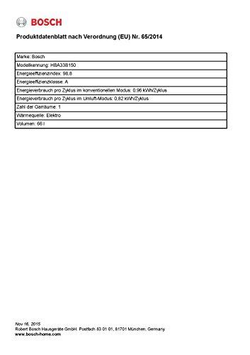 Bosch HBA33B150 Einbau-Backofen - 3