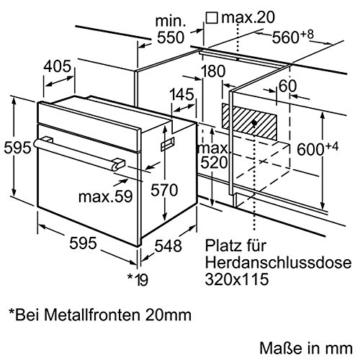 Bosch HBA33B150 Einbau-Backofen - 8
