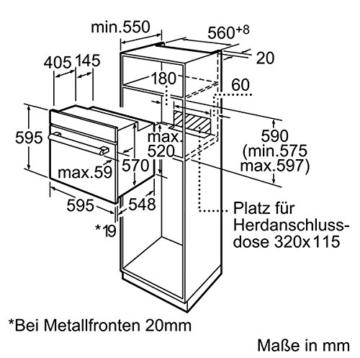 Bosch HBG73U150 Einbau-Backofen - 8