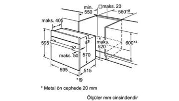 Siemens HB23GB540 Einbau-Backofen - 3